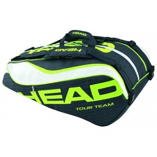 Head Extreme Monstercombi Tennis Bag Black Green White