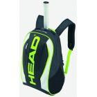 Head Extreme Tennis Backpack (Black/ Green/ White) - Head Tennis Bags