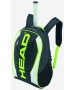 Head Extreme Tennis Backpack (Black/ Green/ White) - Tennis Racquet Bags