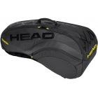 Head Radical LTD 6R Combi Tennis Bag (Black/Yellow) - Head Tennis Bags