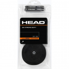 Head XtremeSoft Tennis Racquet Overgrip 30 Pack (Black) -