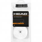 Head XtremeSoft Tennis Racquet Overgrip 30 Pack (White) -