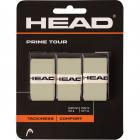 Head Prime Tour Tennis Racquet Overgrip 3 pack (Grey) -