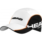 Head Tour Team Cap (Wht/ Blk) - HEAD Tennis Apparel