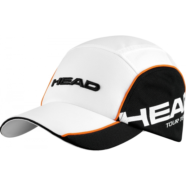 Head Tour Team Cap (Wht/ Blk)