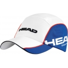 Head Tour Team Cap (Wht/ Blu) - HEAD Tennis Apparel