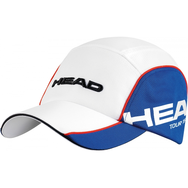 Head Tour Team Cap (Wht/ Blu)