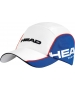 Head Tour Team Cap (Wht/ Blu) - Tennis Hats