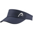 Head Women's Pro Player Tennis Visor (Navy) - Tennis Hats