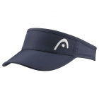 Head Women's Pro Player Visor (Navy) - HEAD