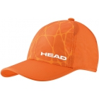 Head Light Function Tennis Hat (Fluorescent Orange) - Tennis Hats