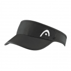 Head Pro Player Womens Visor (Black) - New Style Tennis Apparel