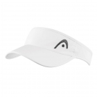 Head Pro Player Womens Visor (White) - New Style Tennis Apparel