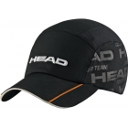 Head Tour Team Cap (Black) - Tennis Hats