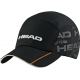 Head Tour Team Cap (Black) - HEAD Tennis Apparel