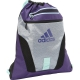 Adidas Rumble Sackpack (Grey/Purple/Pink) - Adidas Tennis Bags