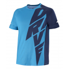 Babolat Men's Drive Crew Neck Tennis Tee (Drive Blue) -