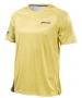 Babolat Boy's Performance Crew Neck Tennis Tee (White/Dark Yellow) - NEW: Babolat Performance Tennis Apparel for Men, Women & Juniors