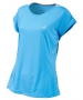 Babolat Girl's Performance Cap Sleeve Tennis Top (Horizon Blue) - NEW: Babolat Performance Tennis Apparel for Men, Women & Juniors