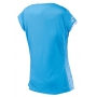 Babolat Girl's Performance Cap Sleeve Tennis Top (Horizon Blue)