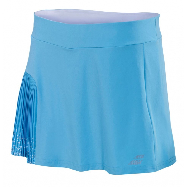 Babolat Girl's Performance Pleated Tennis Skirt (Horizon Blue)