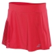 Babolat Girl's Performance Pleated Tennis Skirt (Hibiscus) - Girl's Tennis Apparel