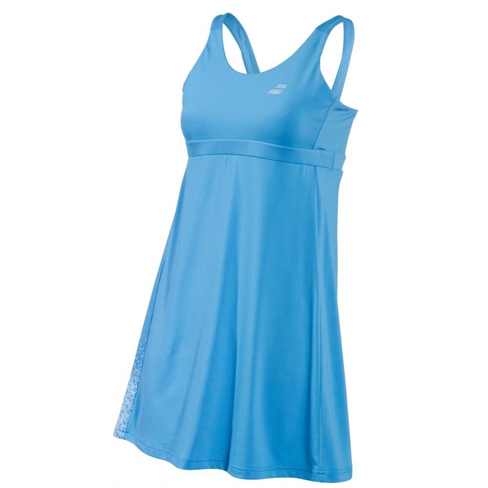 Babolat Girl's Performance Tennis Dress (Horizon Blue)