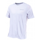 Babolat Men's Performance Crew Neck Tennis Tee (White/Silver) - Babolat Tennis Apparel