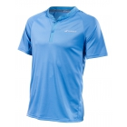 Babolat Men's Performance Tennis Polo (Parisian Blue/Silver) - Men's Polo Shirts