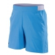 Babolat Men's Performance 7 Inch Tennis Short (Parisian Blue/Black) - Babolat Men's Tennis Apparel