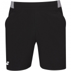 Babolat Men's Compete Tennis Shorts w/ 7 Inch Inseam & Performance Polyester (Black/Black)  -