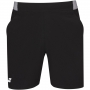 Babolat Men's Compete Tennis Shorts w/ 7 Inch Inseam & Performance Polyester (Black/Black)