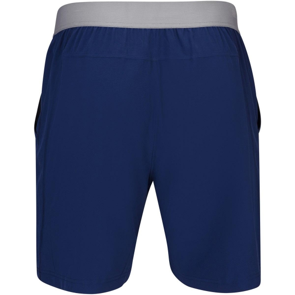 Babolat Men's Compete Tennis Shorts w/ 7 Inch Inseam & Performance Polyester (Estate Blue)