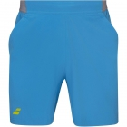 Babolat Men's Compete Tennis Shorts w/ 7 Inch Inseam & Performance Polyester (Malibu Blue) - Men's Shorts