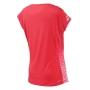 Babolat Women's Performance Cap Sleeve Tennis Top (Hibiscus)