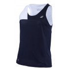 Babolat Women's Performance Tennis Tank Top (Black/White) - Babolat Women's Tennis Apparel