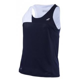 Babolat Women's Performance Tennis Tank Top (Black/White)