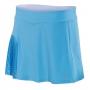Babolat Women's Performance 13 Inch Pleated Tennis Skirt (Horizon Blue)