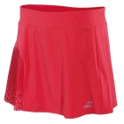 Babolat Women's Performance 13 Inch Pleated Tennis Skirt (Hibiscus) - Babolat Women's Tennis Apparel