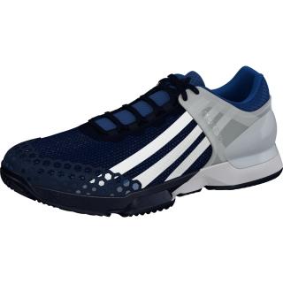 Adidas Men S Adizero Ubersonic Clay Court Tennis Shoes Navy White