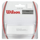 Wilson Sublime Tennis Racquet Replacement Grip  (White) - Absorbent Replacement Grips
