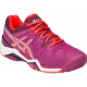 Asics Women's Gel Resolution 6 Shoes (Berry/ Coral/ Plum) - Asics Tennis Shoes