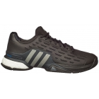 Adidas Men's Barricade 2016 Boost Tennis Shoes (Black/Iron Met) - Men's Tennis Shoes