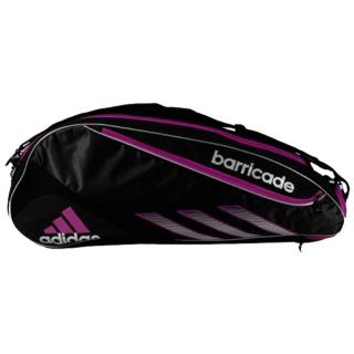 f6171a7724be Adidas Barricade III Tour 3 Pack Tennis Bag (Blk  Pnk) - Do It Tennis