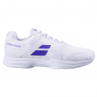 Babolat Men's SFX3 All Court Wimbledon Tennis Shoe (White/Purple) -
