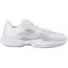 Babolat Men's Jet Mach 3 Tennis Shoes (White/Silver) -