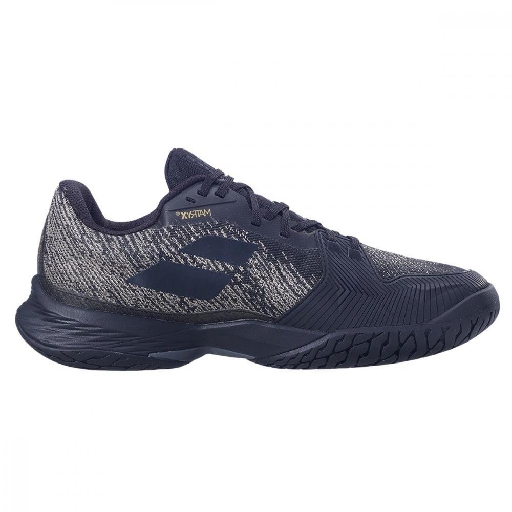 30S21629-2031 Babolat Men's Jet Mach 3 Tennis Shoes (Black/Gold)
