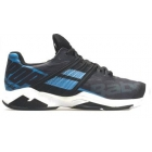 Babolat Men's Propulse Fury All Court Tennis Shoes (Black/Parisian Blue) - Babolat Propulse Tennis Shoes