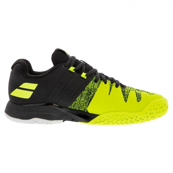 Babolat Men's Propulse Blast All Court Tennis Shoes (Black/Fluo Aero)