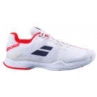 Babolat Men's Jet Mach II All Court Tennis Shoes (White/White) - Performance Tennis Shoes